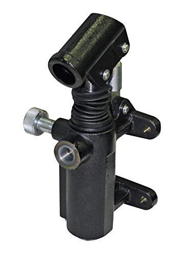 Hyd Inline Handpumpe, 33 cc, Entlastungsventil, Handknopf, Faltenbalg