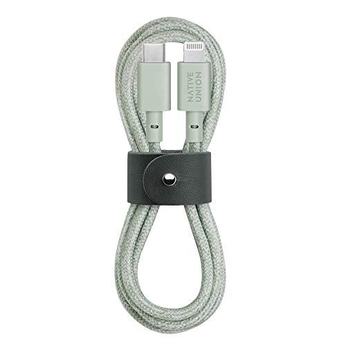 Native Union Belt Cable USB-C a Lightning - Cable Reforzado Ultrarresistente de...
