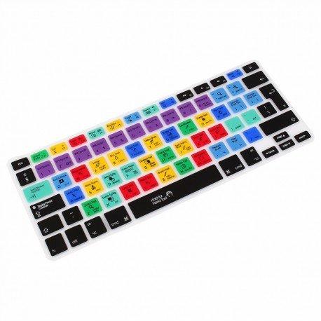 StickersLab - Pellicola Protettiva in Silicone Adobe Photoshop Tasti di Scelta Rapida per Tastiera Notebook Apple MacBook Air/PRO 13 15 17