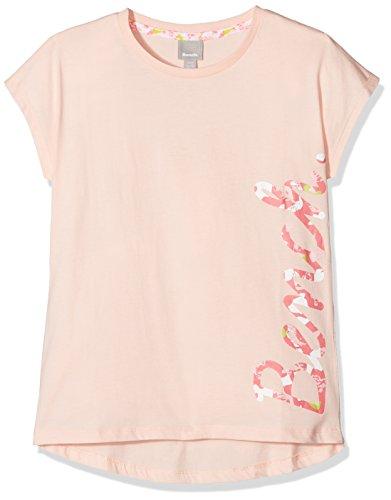 Bench Mädchen Script Tee T-Shirt, Rosa (Pink Salt Pk11479), 164 (Herstellergröße: 13-14)