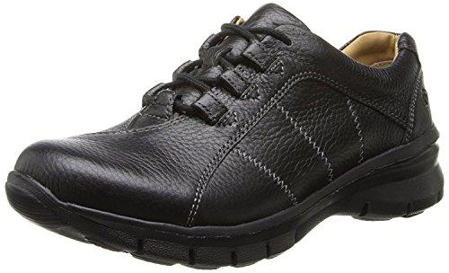 Nurse Mates Womens Lexi Low Top Lace Up Walking Shoes, Black, Size 6.5