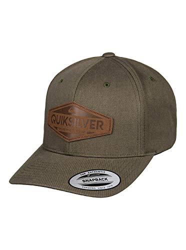 Quiksilver - Gorra con Ajuste Posterior a Presión - Hombre - One Size - Marrón