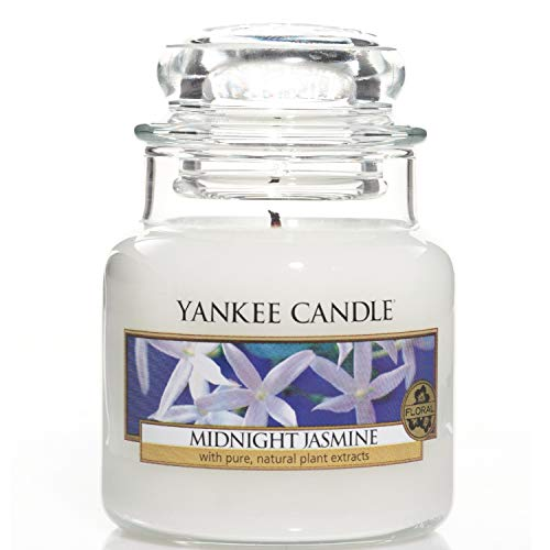 Yankee Candle Small Jar Midnight Jasmine, Blanco