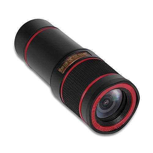 Mobiele telefoon Telescoop 12X Outdoor Enkele Buis Hoge Vergroting HD Zoom Camera Lens 14 Times Mobiele Telefoon Lens Telescoop A