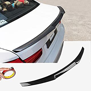 nero ulofpc 2pcs auto spoiler posteriore universale carbonio deflettore accessori auto