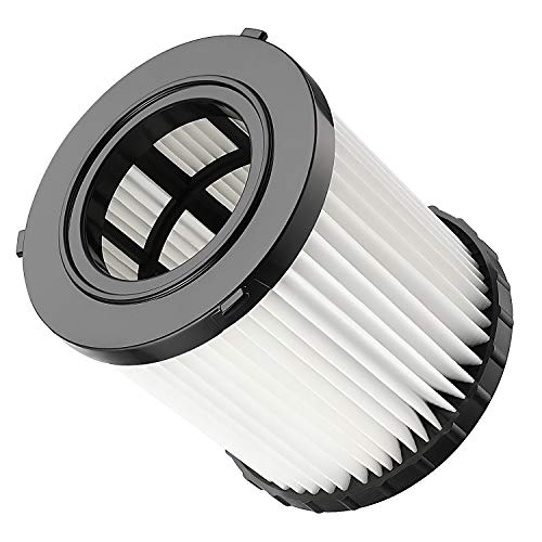 isinlive DCV5801H Hepa Replacement Filter Compatible for DeWalt DCV580 & DCV581H Wet Dry Vacuum