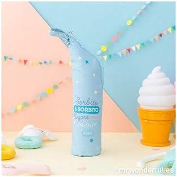 Mr. Wonderful WOA08866ES Termo para líquidos sorbito llegaré, Acero Inoxidable, Multicolor, 6.5x33.5x6.5 cm: Amazon.es: Hogar