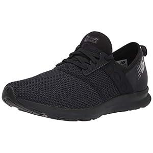 New Balance Women's FuelCore Nergize V1 Sneaker, Black/Magnet, 7