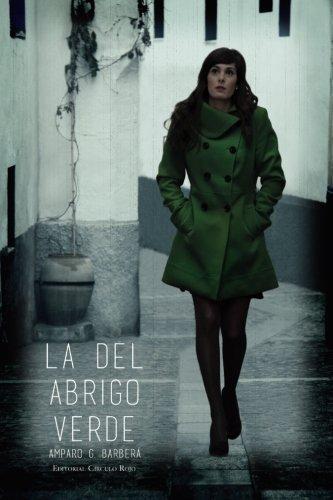 La del abrigo verde