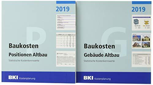 BKI Baukosten Altbau 2019 - Kombi Gebäude + Positionen: Statistische Kostenkennwerte