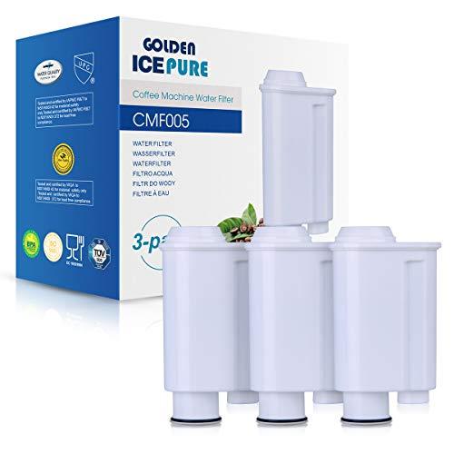 3x Filtre à Eau cmf006 Filtre remplace De /'Longhi DLS c002-100/% Compatibles
