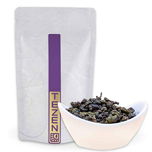 GABA Oolong Tee aus Alishan, Chiayi Taiwan | Hochwertiger Gaba Oolong Tee | Gabaron Tee aus Taiwan | Gabalon Tee (100g)