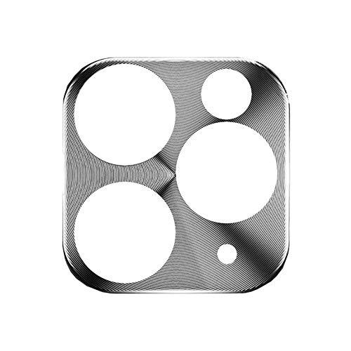 Protector De Lente De Cámara,Película De Vidrio Templado De Lente De Protección Integral De Aleación De Titanio para Teléfono iPhone 11 Pro MAX Protector De Espalda De Teléfono De Metal