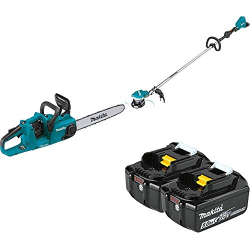 Buy Makita XCU04Z 18-Volt X2 (36V) LXT Lithium-Ion Brushless Cordless 16 inch Chain Saw and XRU15Z C...