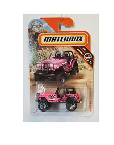 Matchbox MBX 60 Jeep 4 X 4 Off-Road 76/100 Pink Cool Mud