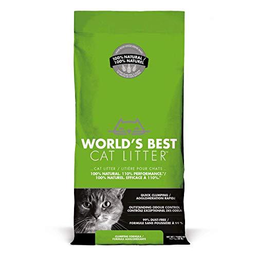 World's Best Cat Litter, Clumping, Biodegradable, Original 12.7kg