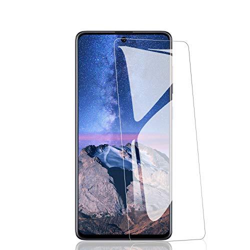 RIIMUHIR 3 Pezzi in Vetro Temperato per Samsung Galaxy A71, Protezione Schermo Anti-Impronta Digitale, Durezza 9H, Senza Bolle, HD Trasparente