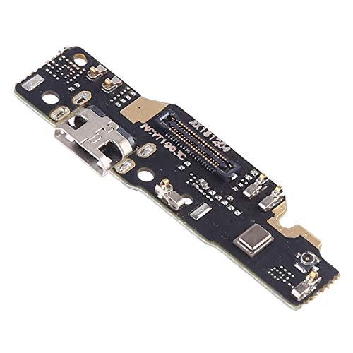 Compatible con Xiaomi Redmi Note 6 Note 6 Pro Flat Flex sub Board Dock micro USB Jack microUSB carga conector conector carga + micrófono Sync datos