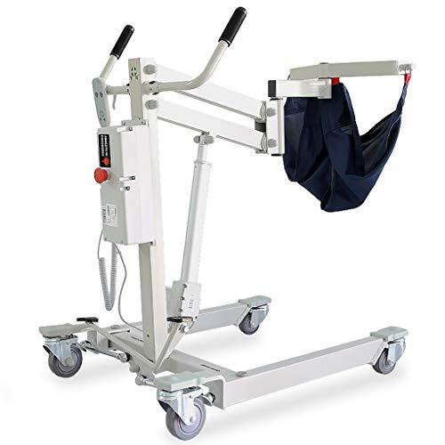 YXP Auto-montierter Patientenlift mit manueller niedriger Basis, bettlägerige Patienten/querschnittsgelähmte Hemiplegiker mit Frakturpatienten/eingeschränkter Mobilität, 450 lb Gewichtskapazität