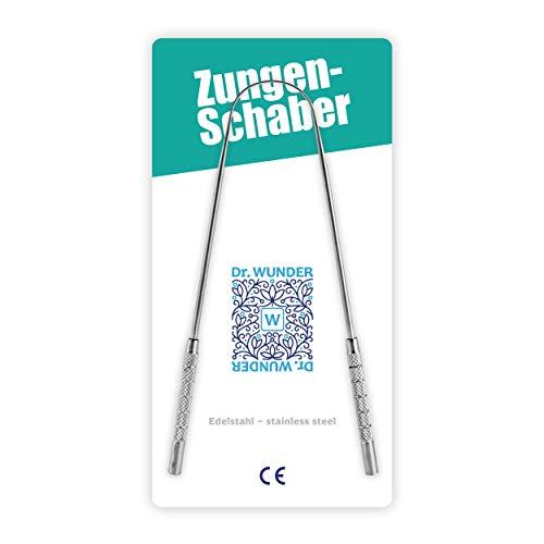 Dr. Wunder Rascador de lengua: 100% acero inoxidable quirúr