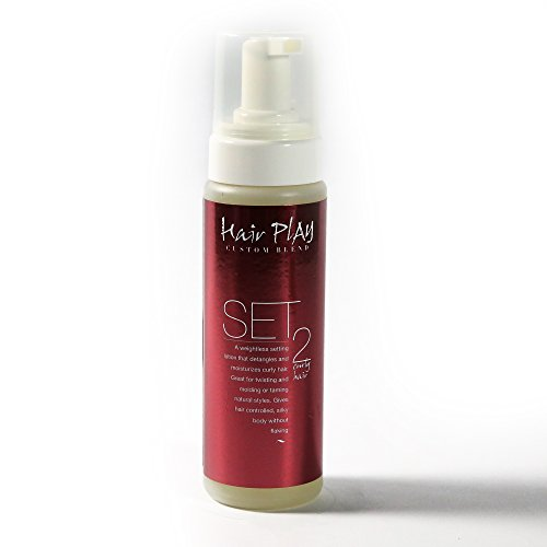 Hair Mousse for Frizz Control and Wavy Hair - Hair Play Set #2 - Ease Frizz with Volumizing,...