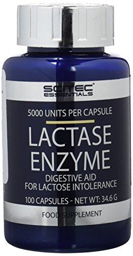 Scitec Nutrition Specials Lactase Enzyme, 100 Kapseln, 1er Pack (1 x 35g)