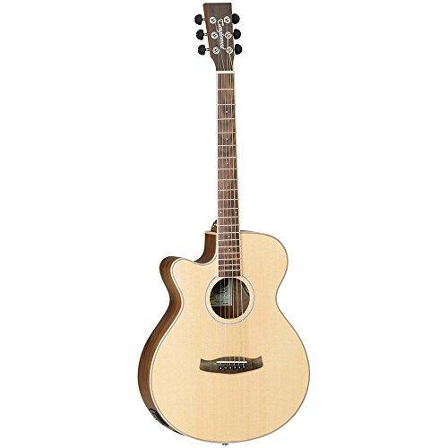 Tanglewood Discovery DBT SFCE BW LH - Guitarra electroacústica para zurdos