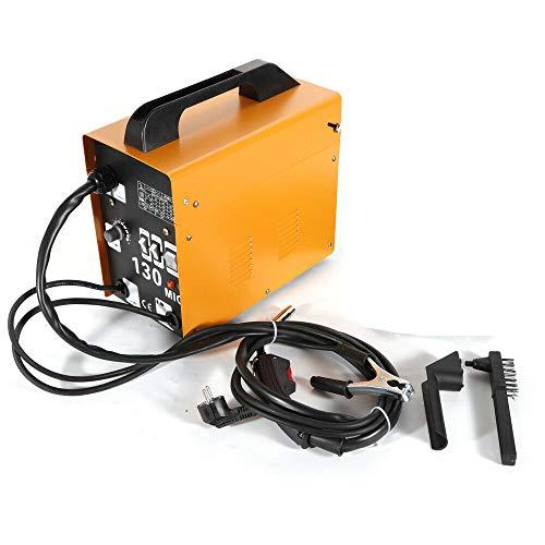 Futchoy MIG-130 - Soldador de electrodos profesional para soldar de alta calidad con cable 220 V