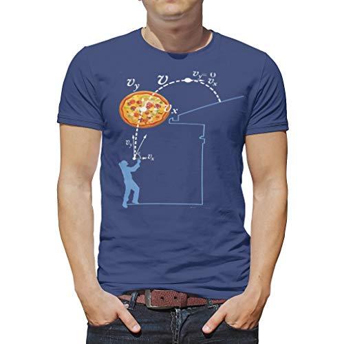 O5KFD & 8 mannen T-shirt jongens top pizza doss vakantie - patroon bedrukken comfortabel hemd