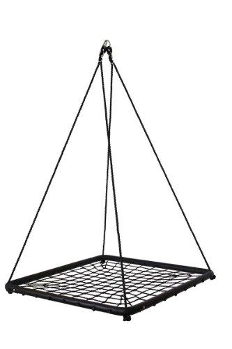 Equilibre et Aventure Balançoire carrée géante en corde type filet très résistante, absolument géniale