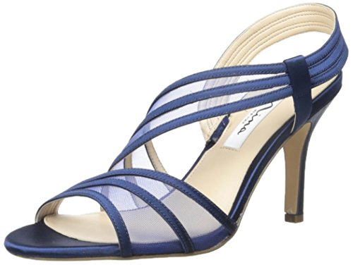 Nina Women's Vitalia Dress Sandal, New Navy, 8.5 M US