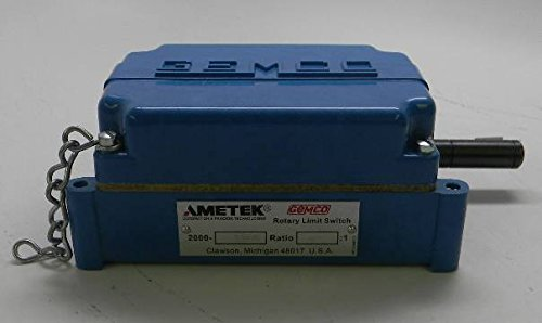 Ametek Gemco Geared Rotary Limit Switch, P/N: AME-2000-8B
