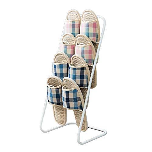 1yess Rack de Zapatos de Almacenamiento extraíble, Zapatillas de Zapatos de Zapata Simple. Rack de Zapatos de Polvo de múltiples Capas 25 * 25 * 55 cm Shoebox (Color: latón, Tamaño: 25 * 25 * 55 cm)