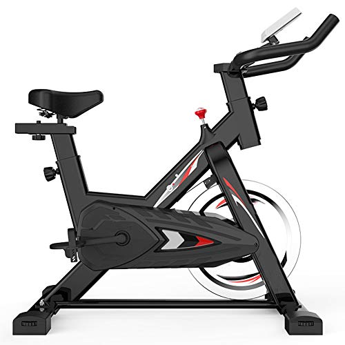 Indoor Cycling Bike, hometrainer, met LED Monitor Leest snelheid, afstand, tijd, calorieën. Fitnessapparatuur Cardio Trainer voor Home Gym Bicycle Sports