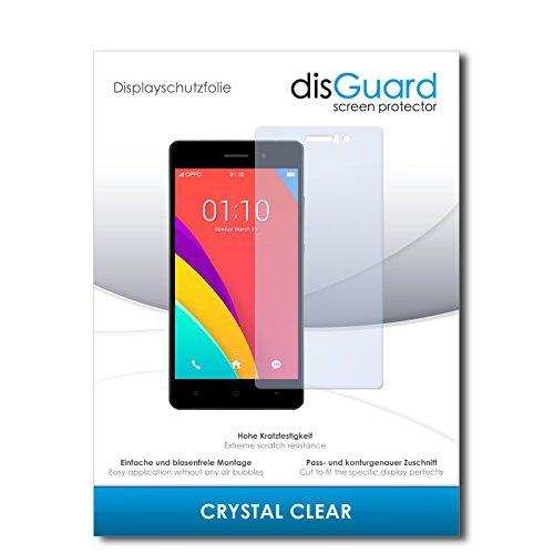 disGuard® Bildschirmschutzfolie [Crystal Clear] kompatibel mit Oppo R5s [4 Stück] Kristallklar, Transparent, Unsichtbar, Extrem Kratzfest, Anti-Fingerabdruck - Panzerglas Folie, Schutzfolie
