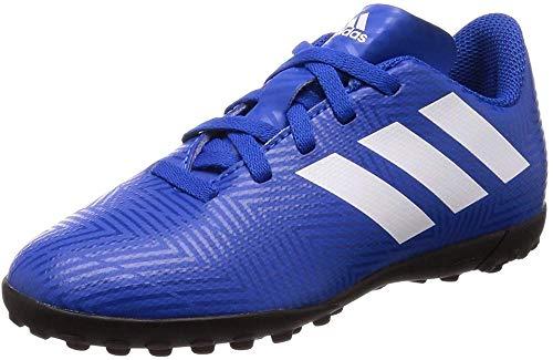 adidas Nemeziz Tango 18.4 TF J, Botas de fútbol Unisex Adulto, Multicolor (Fooblu/Ftwbla/Fooblu 000), 36 EU