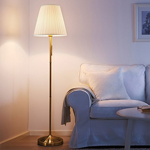 Vloerlamp vloerlamp, woonkamer moderne vintage studie slaapkamer rechtop tafellamp E27 lamp Cap 220 V 60 Watt LED