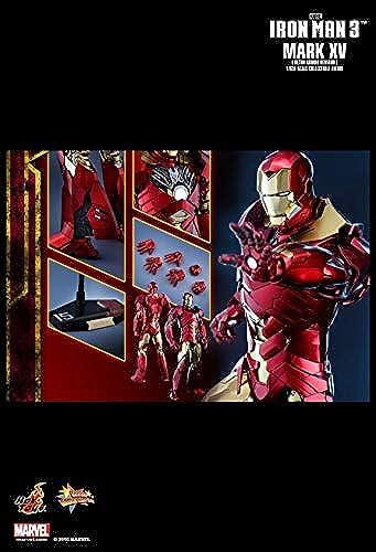 Hot Toys MMS396 - Marvel Comics - Iron Man 3 - Sneaky Mark XV Retro Armor