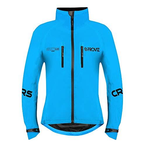 Proviz Chaqueta de Ciclismo REFLECT360 CRS (Color Reflective System) para Mujer