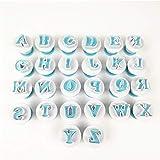 HelloCreate - Juego de herramientas para decoración de tartas, molde para galletas, letras...