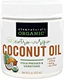 Viva Labs Organic Extra Virgin Coconut Oil 32 Oz.