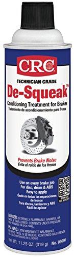CRC 05080 De-Squeak Brake Conditioning Treatment - 11.25 Wt Oz