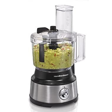 Hamilton Beach 70730 Food Processor & Vegetable Chopper with Bowl Scraper, 10 Cup, Electric