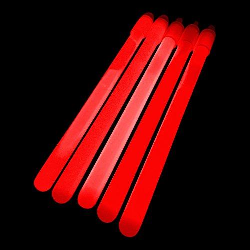 100x 15,2cm Glow Sticks/Glow Taktstöcke (1cm dick) also–PREMIUM Knicklichtern geliefert von glowtopia