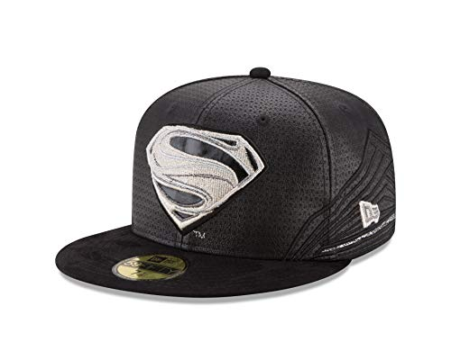 New Era Superman 59fifty Basecap Superman Jl Black - 7 5/8-61cm