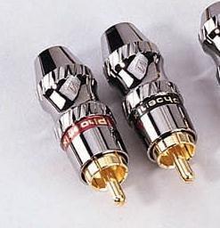 Phoenix Gold ZPR7, Cinch-Stecker, für Kabel mit einem Durchmesser bis 7mm