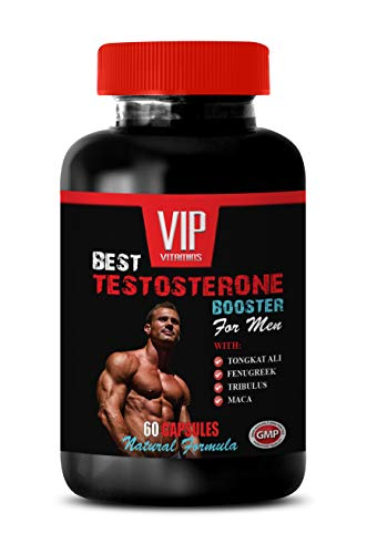 Aphrodisiac Pills for Men - Best Testosterone Booster - for Men - Natural Formula - Horny Goat Weed Extract Capsules - 1 Bottle (60 Capsules)
