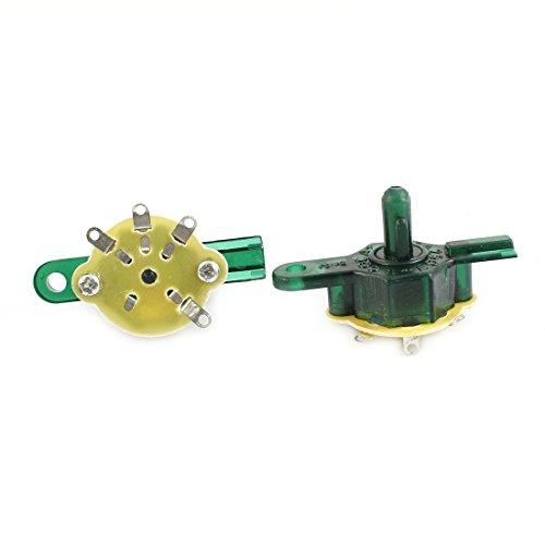 Sourcingmap - Interruptor de control giratorio de velocidad botón del ventilador eléctrico...