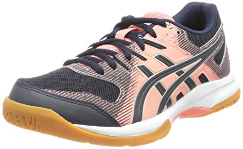 ASICS Damen Gel-Rocket 9 Indoor Court Shoe, Guava/Midnight, 40.5 EU