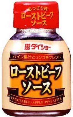 ダイショー ローストビーフソース 100g × 20本 ローストビーフ たれ【入り数3】